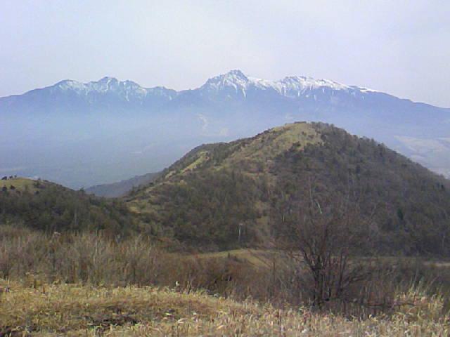 八ヶ岳です