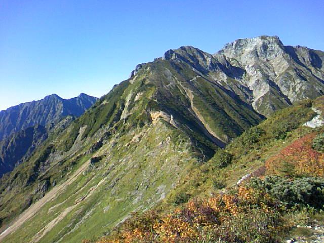 五竜岳です