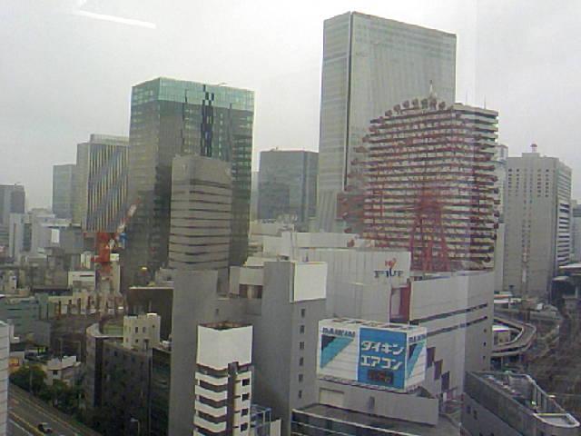 今日は大阪巡業です