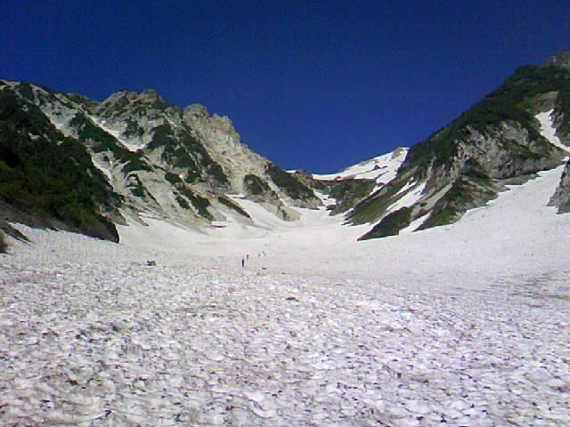 白馬岳から暑中お見舞い申し上げます。