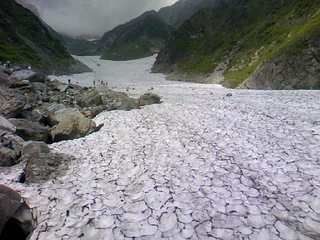 白馬大雪渓です