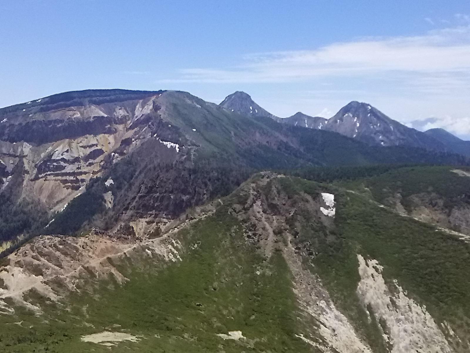八ヶ岳連峰天狗岳です
