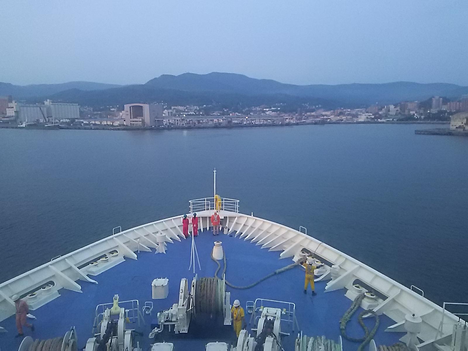 北海道拝顔巡業2016、小樽港です。