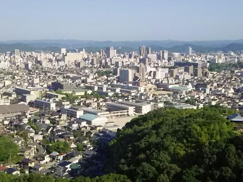 今日は岡山拝顔巡業です。